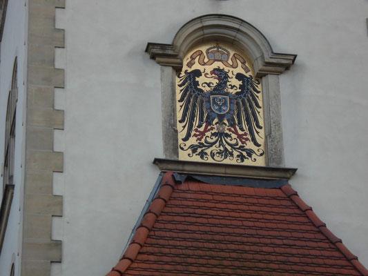 """Symbol """"Kaiserliches Post- und Telegraphenamt"""" 1896"""