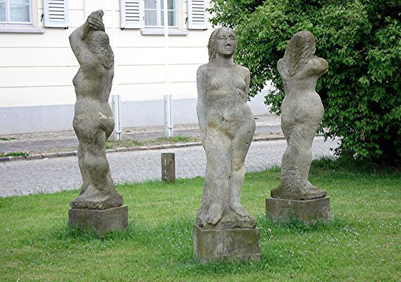 Franz Parr Platz, 3 Grazien
