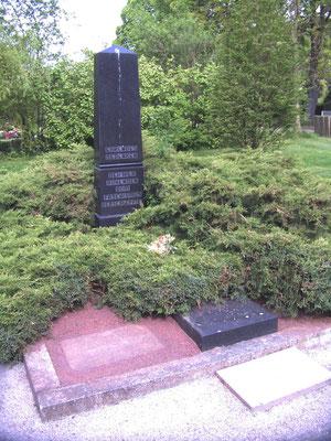 Friedhof Grabdenkmal für die vom Faschismus verschleppten