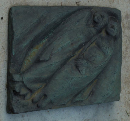 Friedhof Grabdenkmal Böhmer