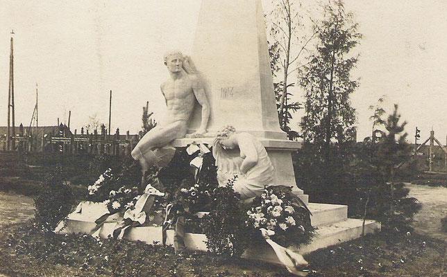 Denkmal Kriegsgefangenenlager Großer Bockhorst , 1914 - 1921
