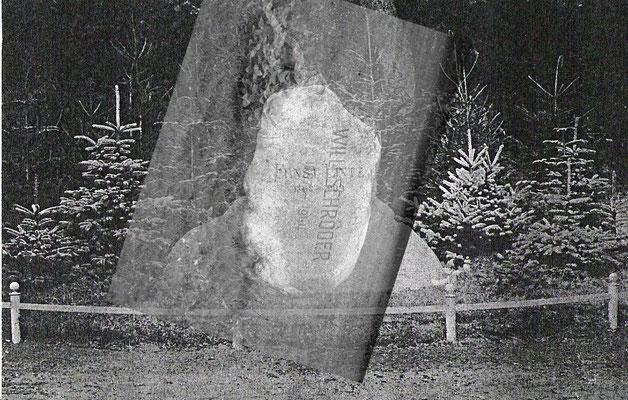 Nachtigallenberg Gedenkstein Willi Schröder