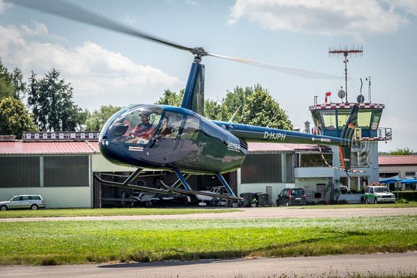Start Hubschraubereinsatz