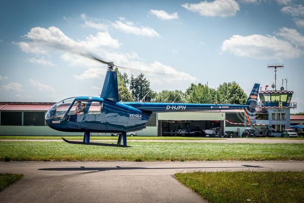 Hubschrauberstart
