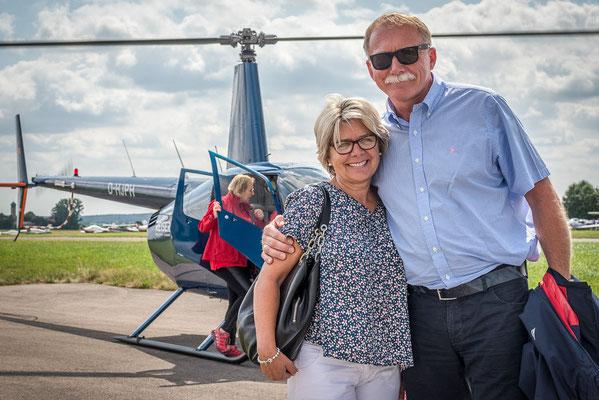 Hubschraubergäste