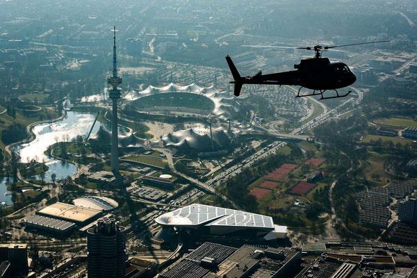 Rundflug München Olypiapark