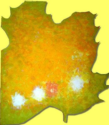 Passage V - Acrylfarbe auf Sperrholz - ca. 80 x 80
