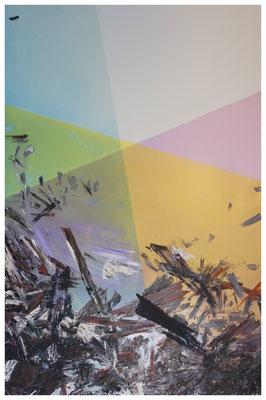 Antinomien - Ölfarbe auf Leinwand - 120 x 90