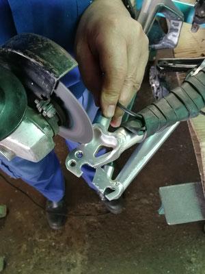 Modificación en chasis de aluminio bici de 26 pulgadas a 27,5 pulgadas