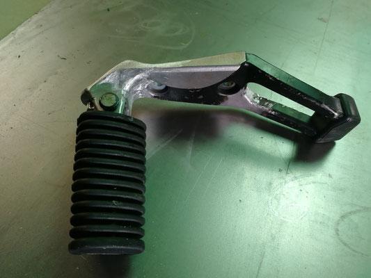 Reparación mediante soldadura aluminio estribera bmw gs1200