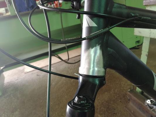 Reparación mediante soldadura aluminio a soporte cazoleta dirección.
