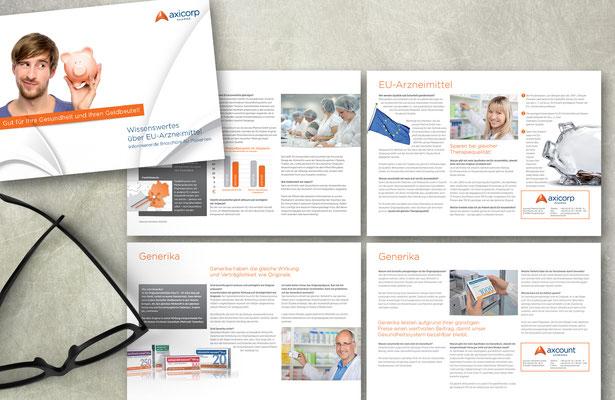 axicorp Pharma - Broschüre