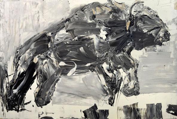 4.Broken Tale.120x80cm, mix technique on wood 2015, by Pawel Kleszczewski