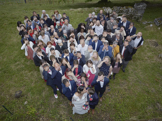 Mariage groupe coeur