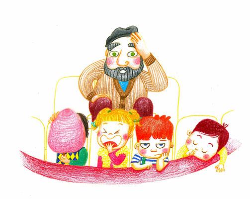 Exposition Le Bon Marché-2013-Crayons de couleur