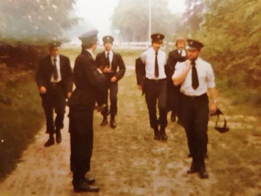 Opleiding Gestichtswachter april 1980