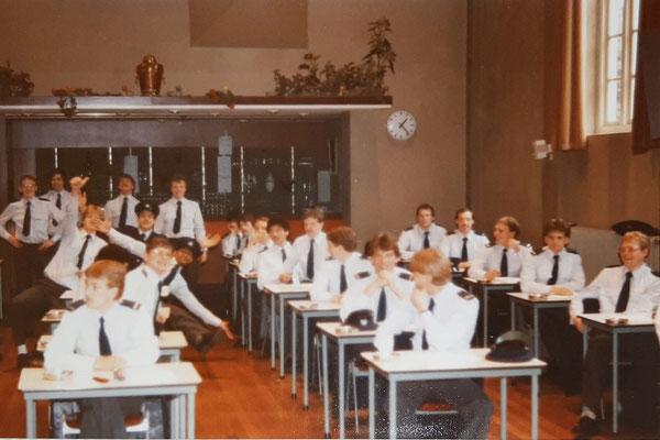 1e lichting februari 1984 opleiding Bewa(arder).