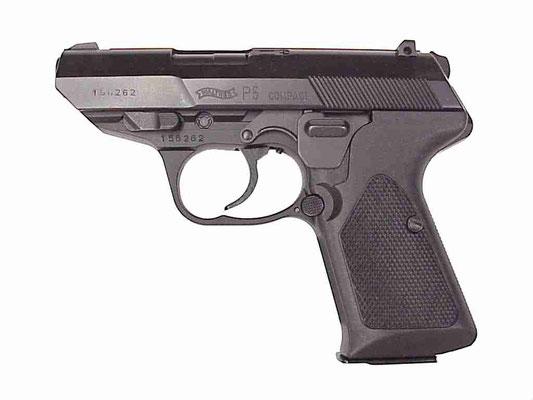 Walter P5 9mm met action 3 munitie
