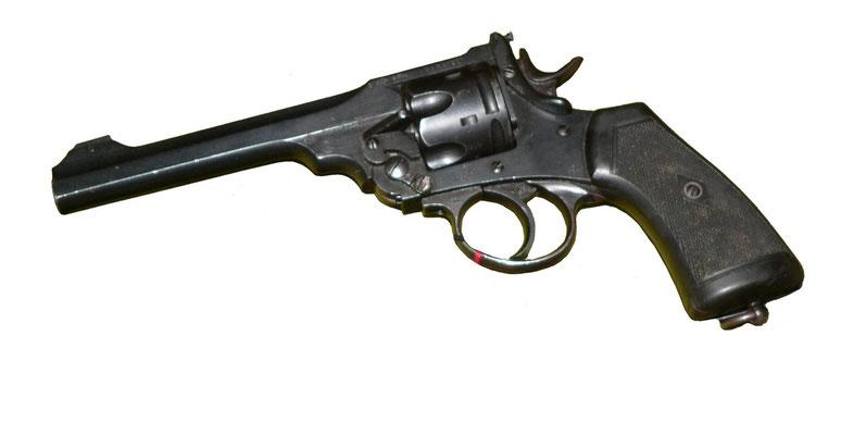 Webley & Scott revolver