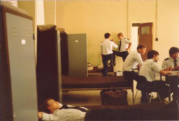 Opleiding Gestichtswachter augustus 1980