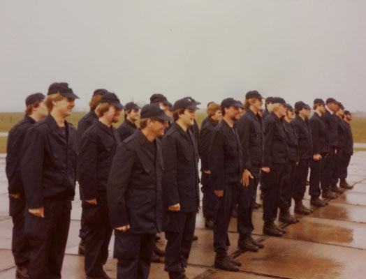 Opleiding Gestichtswachter augustus 1978
