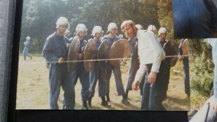 Opleiding Gestichtswachter - ME in Neerijnen 1980