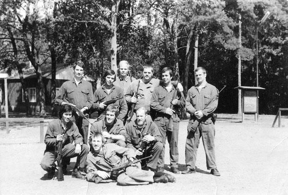 Opleiding Gestichtswacht 1 april 1976