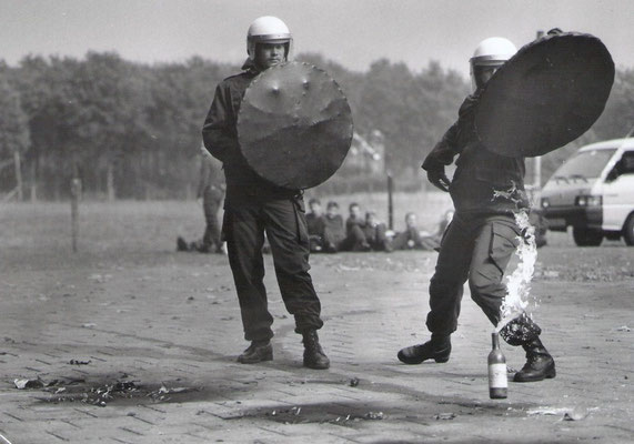 ME opleiding van de opleiding Bewa(arder) april 1984