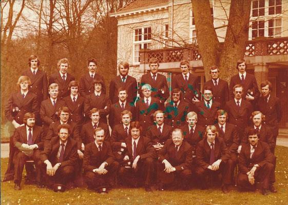 Opleiding Gestichtswachter februari 1978