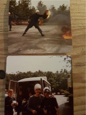 Opleiding Gestichtswachter - ME in Neerijnen 1981