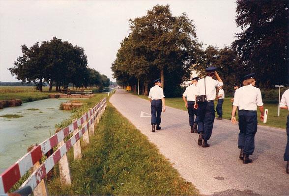 GEWA opleiding aug 1980 Veenhuizen schietbaan