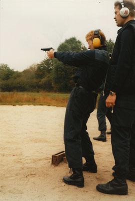 Bewa Opleiding IBBO Pistool Schietbaan Anloo