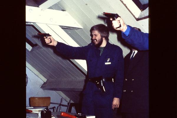 Opleiding Gestichtswacht 1 februari 1975