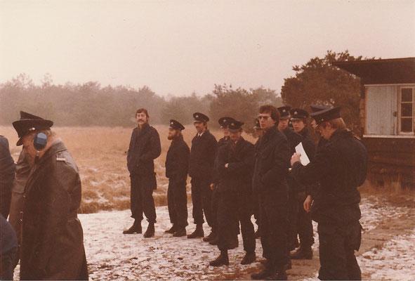 Opleiding Gestichtswachter december 1979
