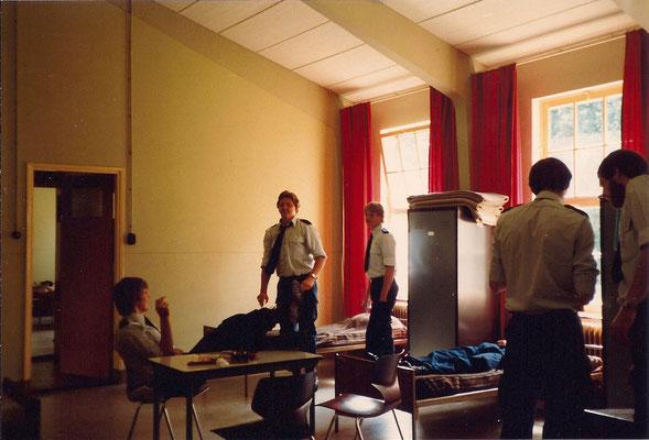Gewa slaapplaats Opleiding 1980