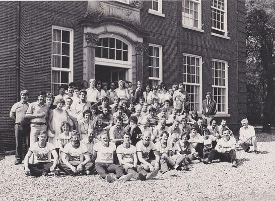 Gewa reünie te Leiduin Haarlem in 1982