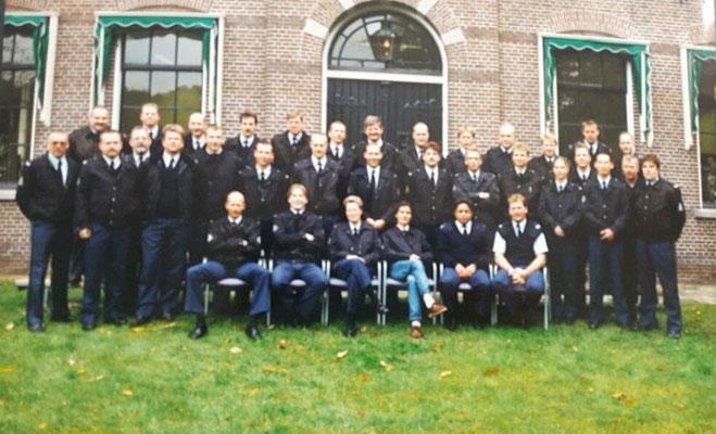 Laatste groep Gestichtswachters van Veenhuizen 1984