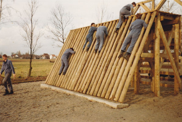 Opleiding Bewaarder september 1985