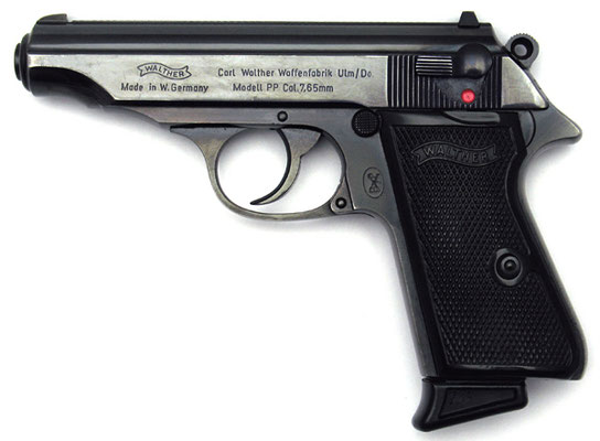 Walter PPK kaliber 7.65 mm volmantel munitie