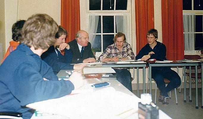 Brigadier Kroes, Theo Daams, Peter Baaijens, Herman Drent, Huub Dijns