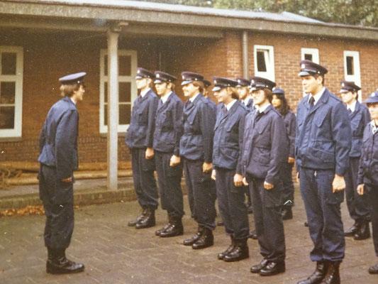 Opleiding Gestichtswachter oktober 1980