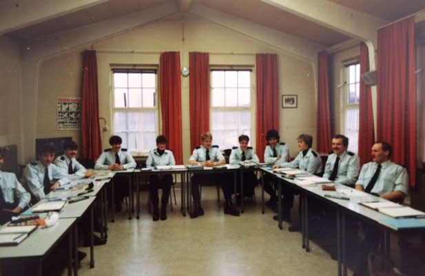 Opleiding Gestichtswachter maart 1983