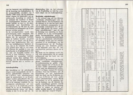 Maandschrift voor het Gevangeniswezen - Nr 9 - januari 1970 - GEWA berichten