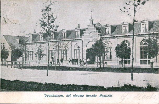 Ansichtkaart  2e gesticht Veenhuizen