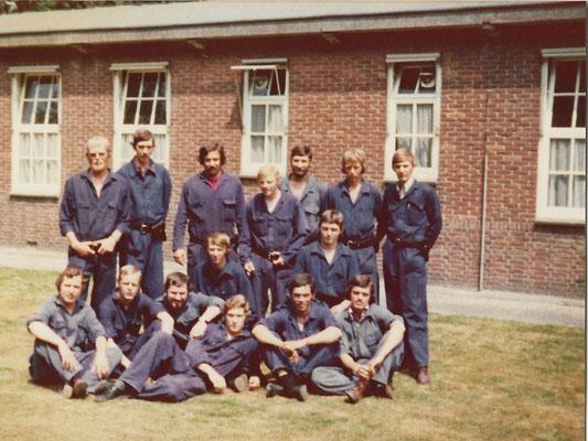 Opleiding Gestichtswacht maart 1976