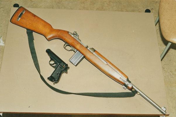 Karabijn 9 mm + Walter PP kaliber 7.65 mm volmantel munitie