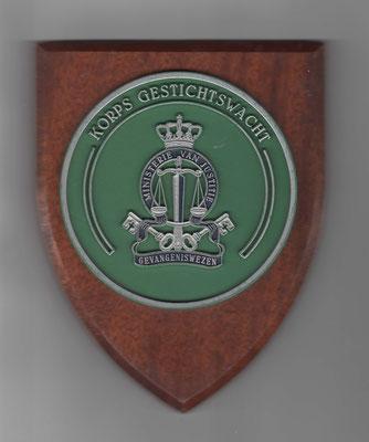 Wapenschildje Korps Gestichtswacht