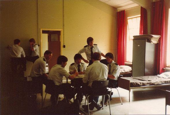 GEWA opleiding aug 1980 Veenhuizen kazerne