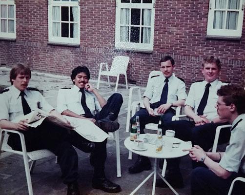 Opleiding Gestichtswachter maart 1982