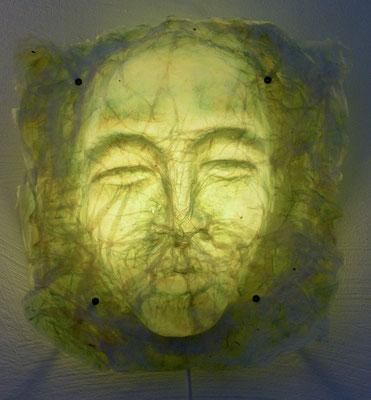 Das grüne Gesicht, 28 x 24 cm